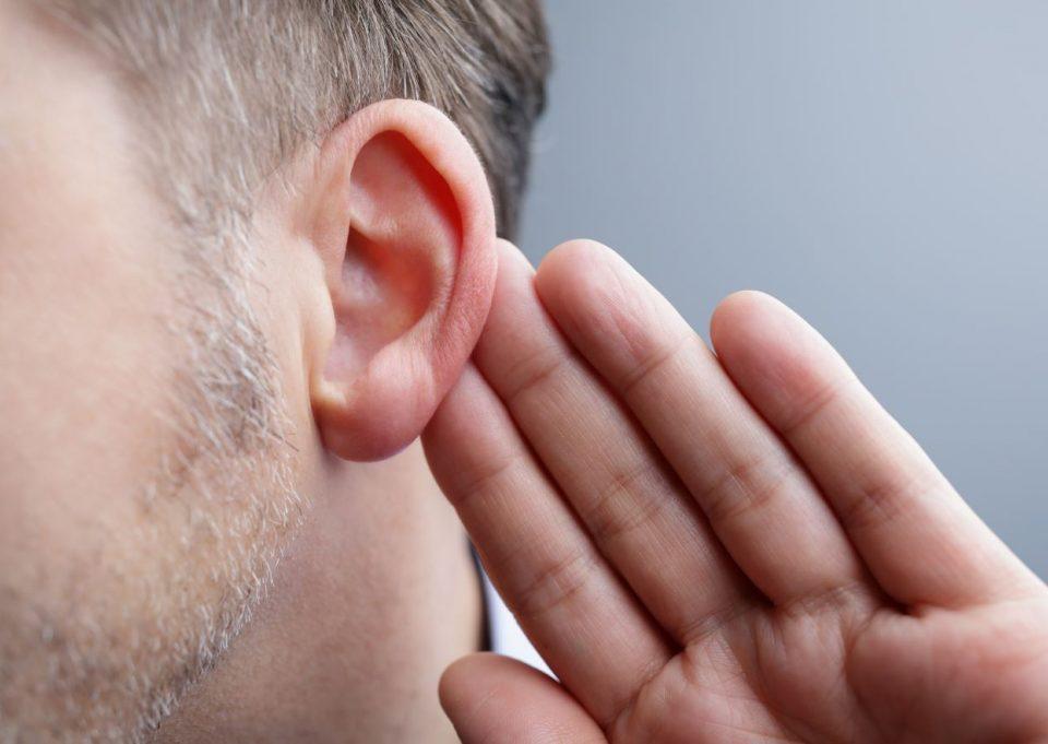 Baisse de l'audition